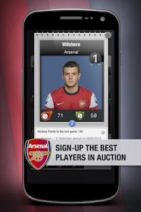 Arsenal Fantasy Manager '14