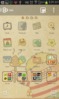 Screenshot of Doo go launcher theme