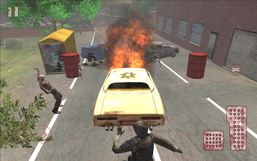 【免費動作App】Deadland's Road. 3D Zombie FPS-APP點子