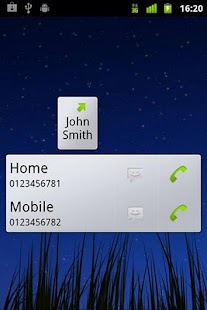 Call Button Widget- screenshot thumbnail
