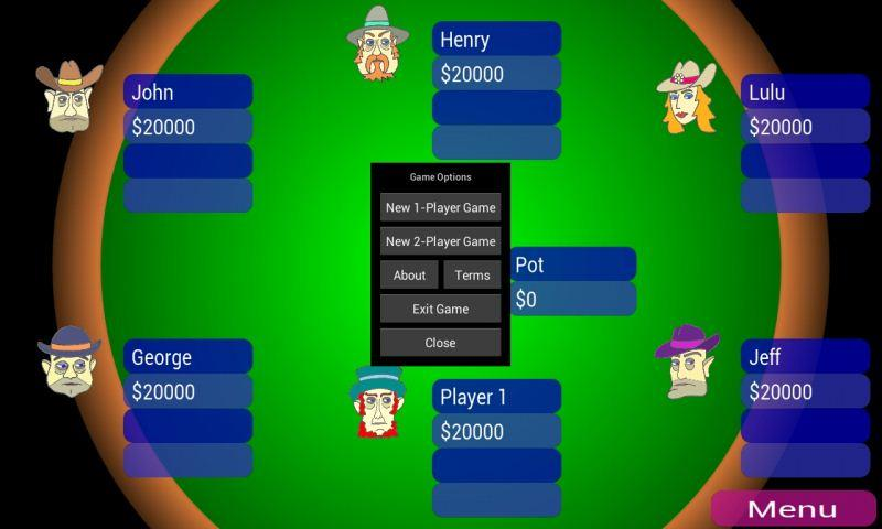 texas holdem app play against computer