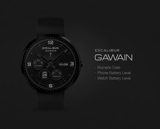 Gawain watchface by Excalibur