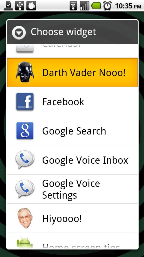 "Darth Vader ""Noooo!""- screenshot"
