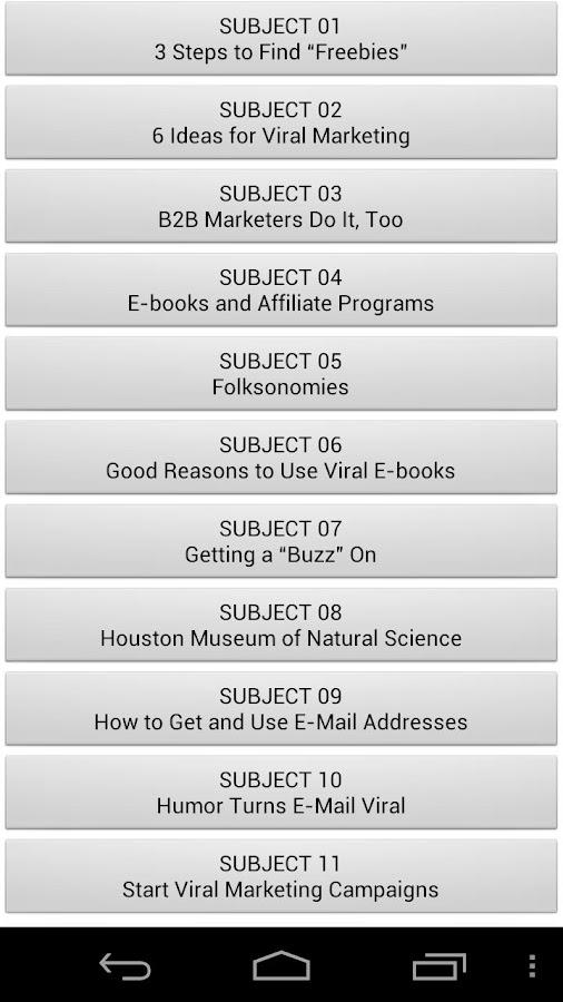 Audiobook - Viral Marketing- screenshot
