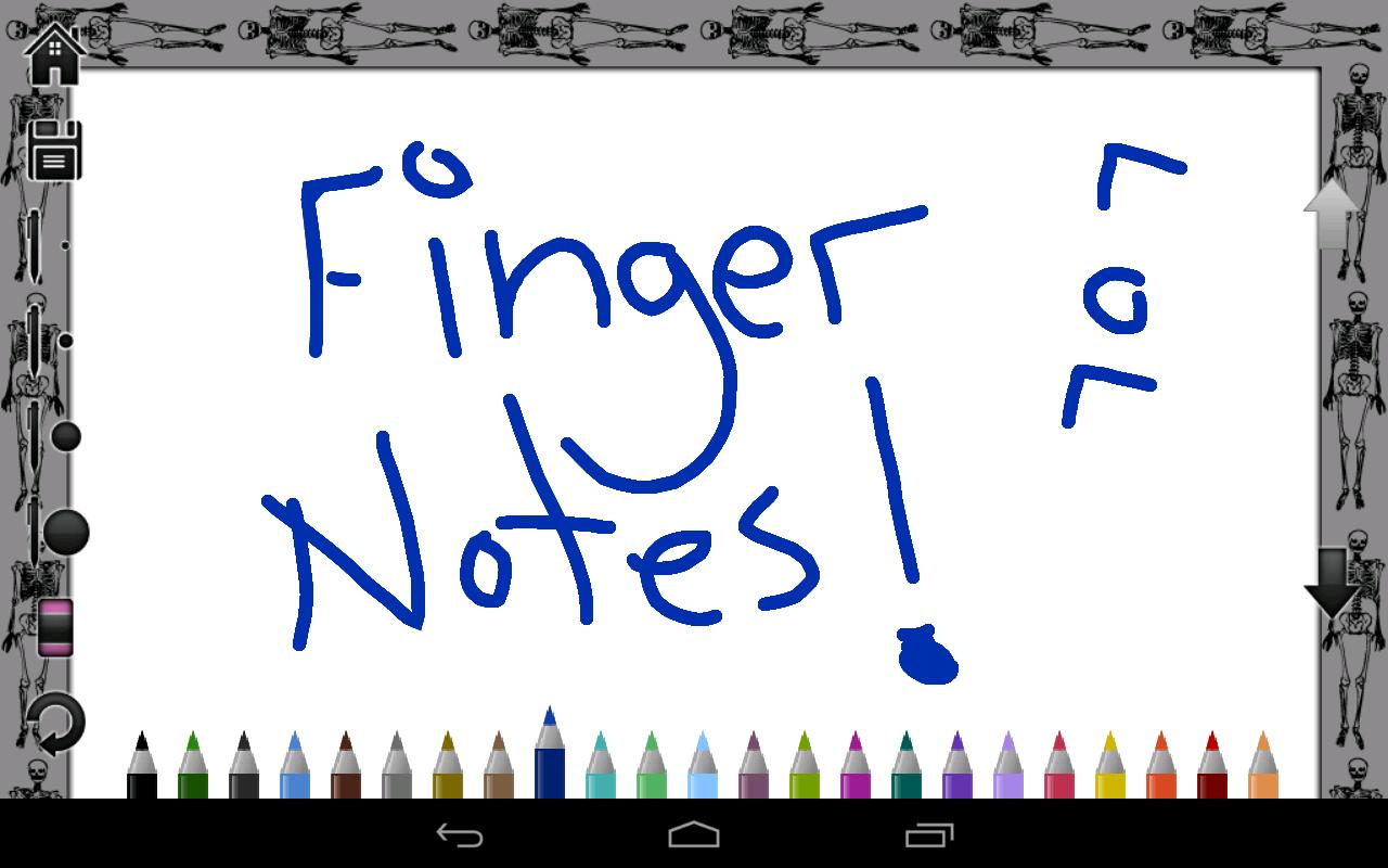 Finger Notes (Full)- screenshot