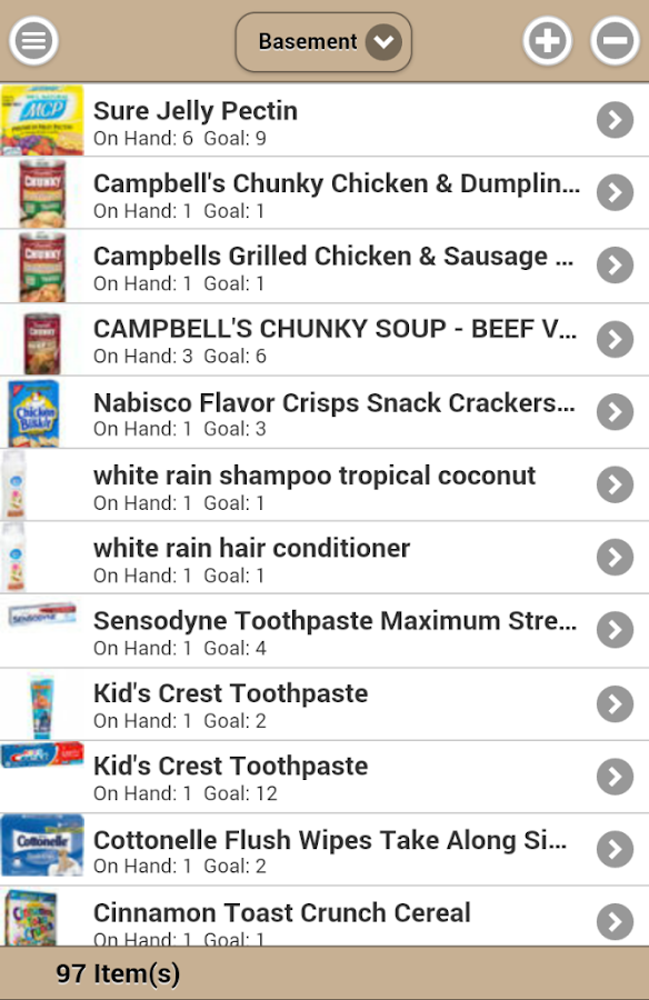 Food Storage Management- screenshot