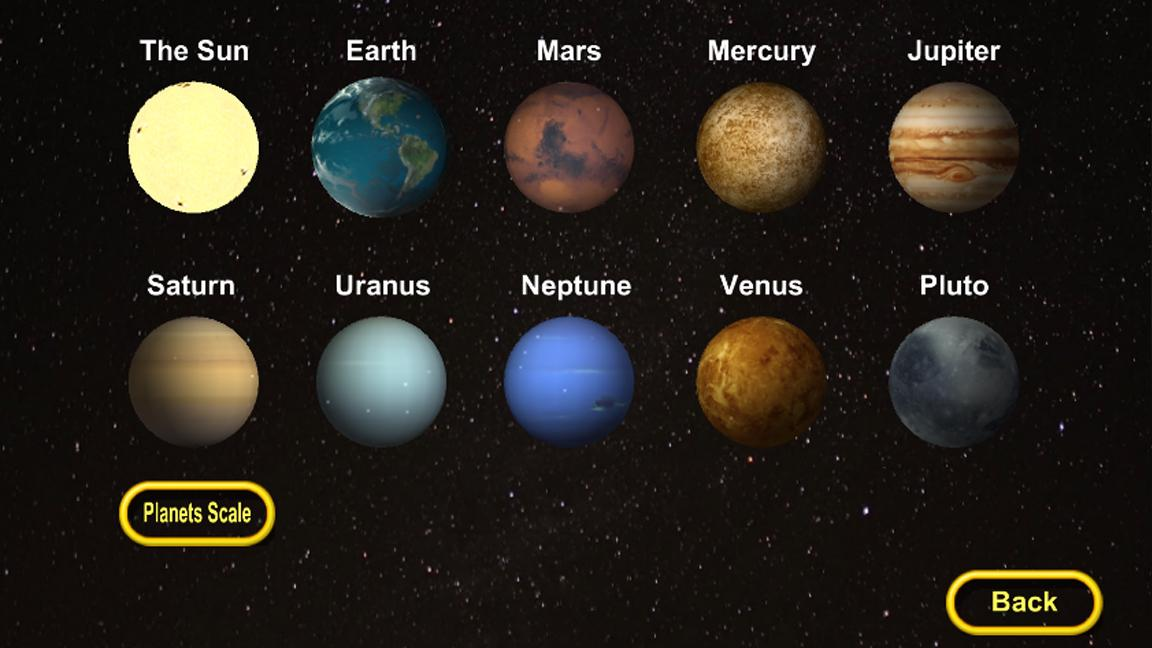 the colors of the planets in solar system - photo #14