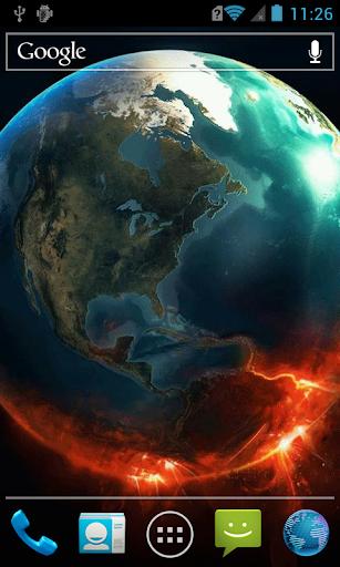 玩免費個人化APP|下載Planet on fire LWP app不用錢|硬是要APP