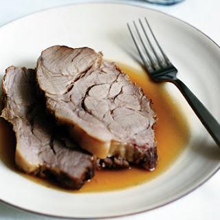 Pork Roast Braised with Milk and Fresh Herbs (Maiale al Latte ).