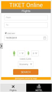 Tiket pesawat Hotel Online