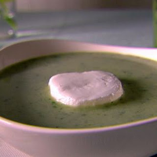 Creamy Rocket and Lettuce Soup