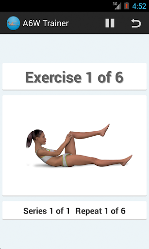 A6W Trainer-Flat Belly Workout