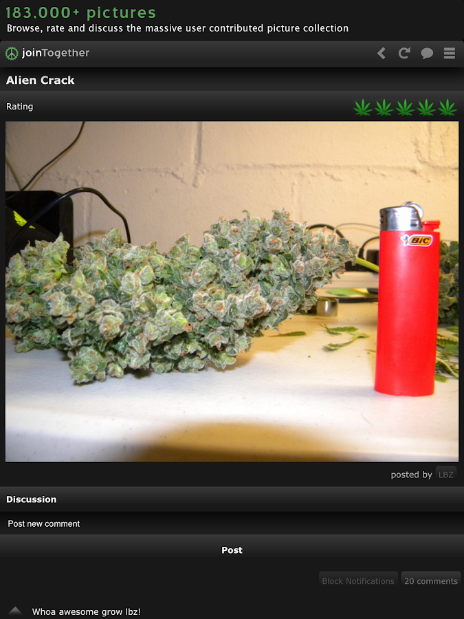 Weed Strains 3D: joinTogether - screenshot