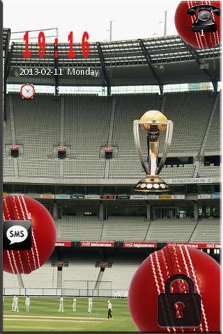 Cricket LOCK SCREEN