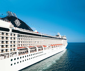MSC Musica reflects the grand and artful aesthetic of her Mediterranean surroundings.