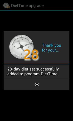 DietTime 28-day Diet Set