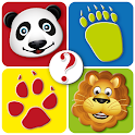 Guess animal tracks icon