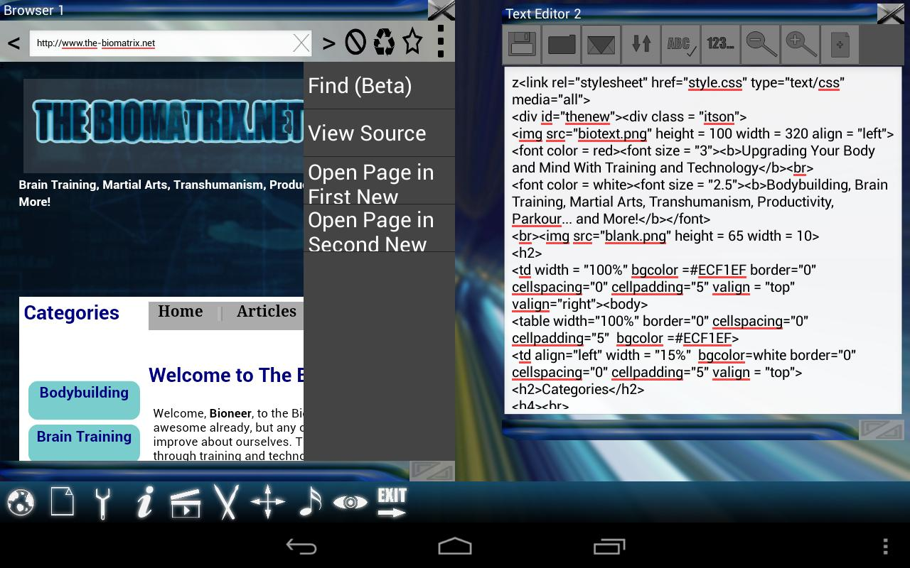 Multiscreen Multitasking THD - screenshot