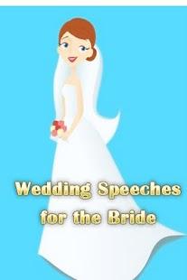 Wedding Speeches for the Bride - screenshot thumbnail