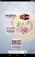 Screenshot of ABN AndhraJyothy