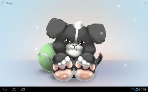 玩免費個人化APP|下載かわいい子犬ライブ壁紙 app不用錢|硬是要APP