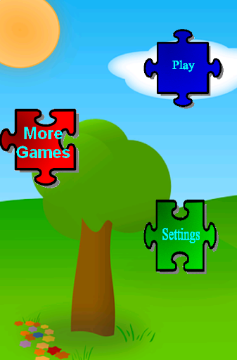 パズルゲームキッズ動物