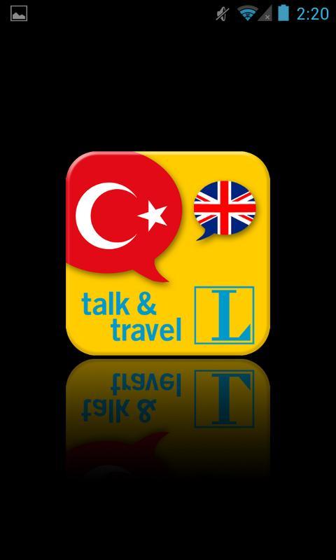 Turkish talk&travel- screenshot