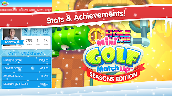 Mini Golf MatchUp™ Seasons - screenshot thumbnail