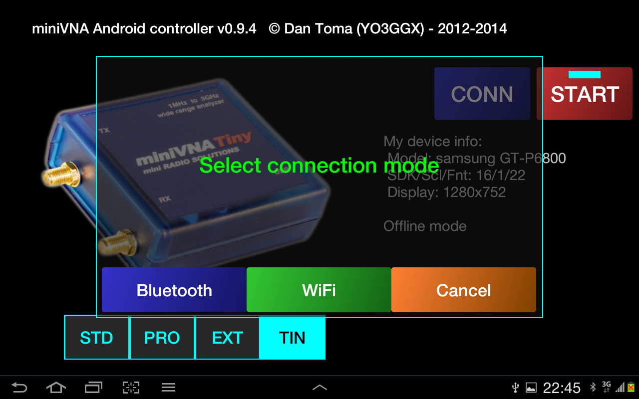 Blue VNA- screenshot