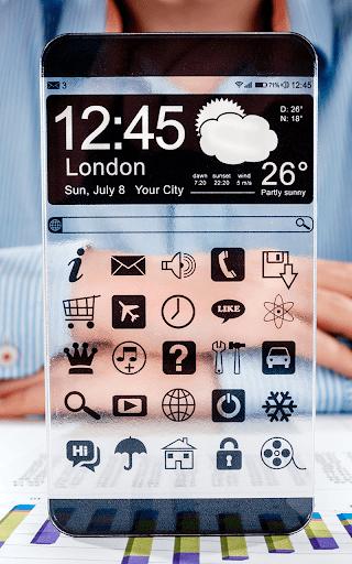 超清透明手機屏幕 -Best Transparent|玩娛樂App免費|玩APPs