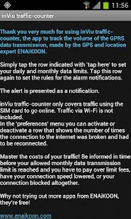 inViu traffic-counter - screenshot thumbnail