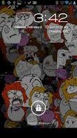 Screenshot of Rage Face Live Wallpaper+Share