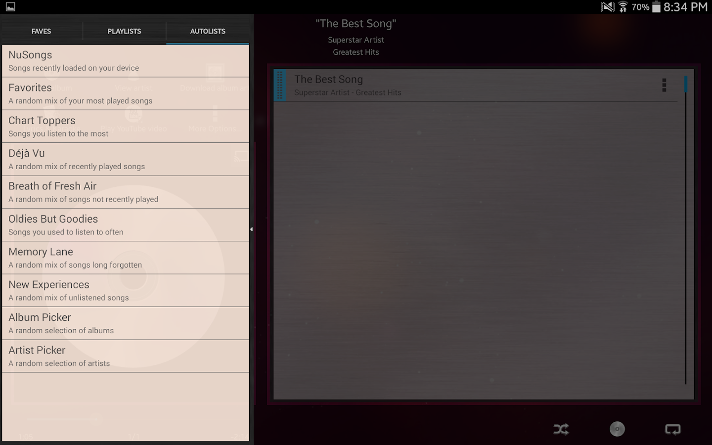Music Player (Remix) - Trial- screenshot