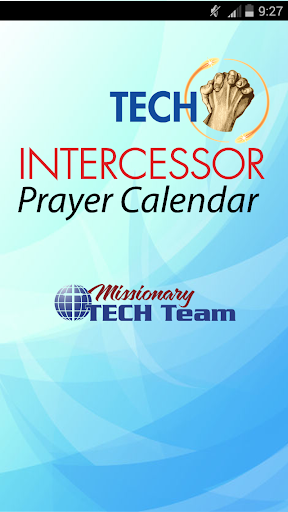 Intercessor Prayer Calendar