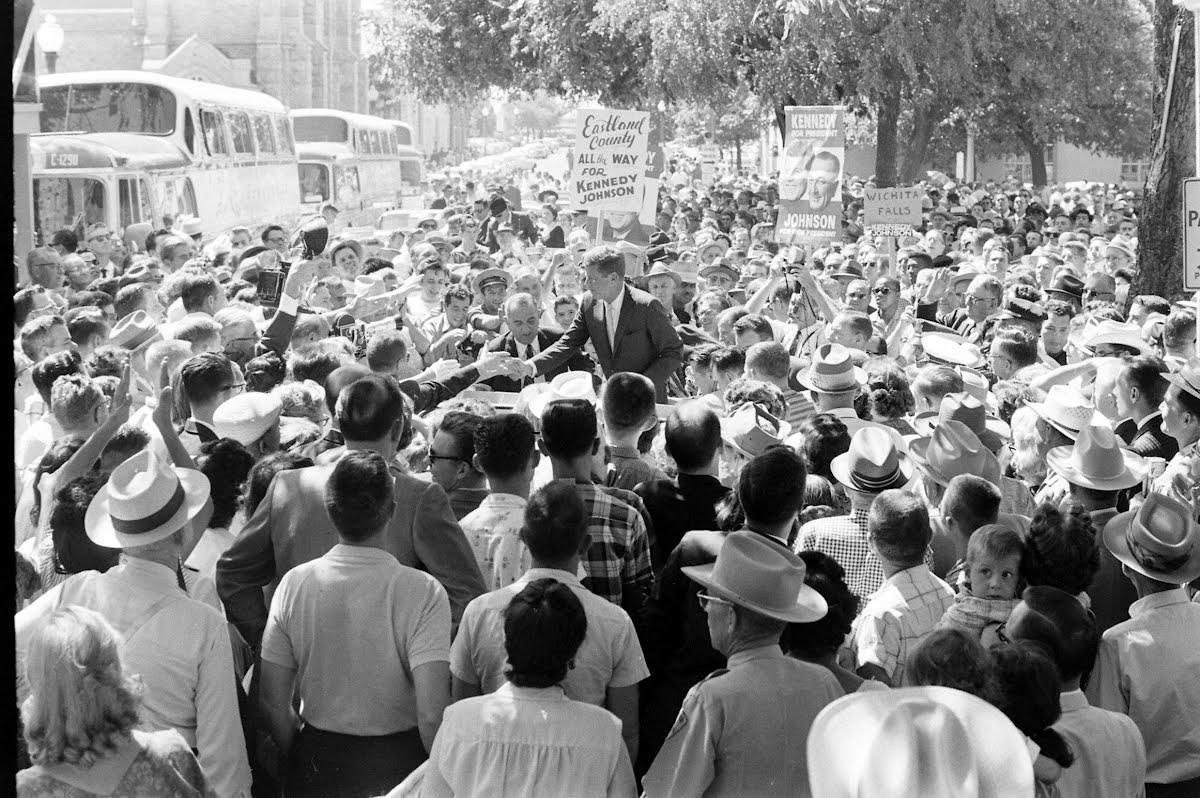 Kennedy Campaign Texas