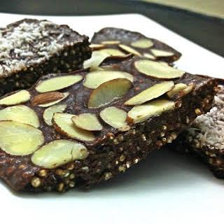 Crispy Quinoa Chocolate Bars.