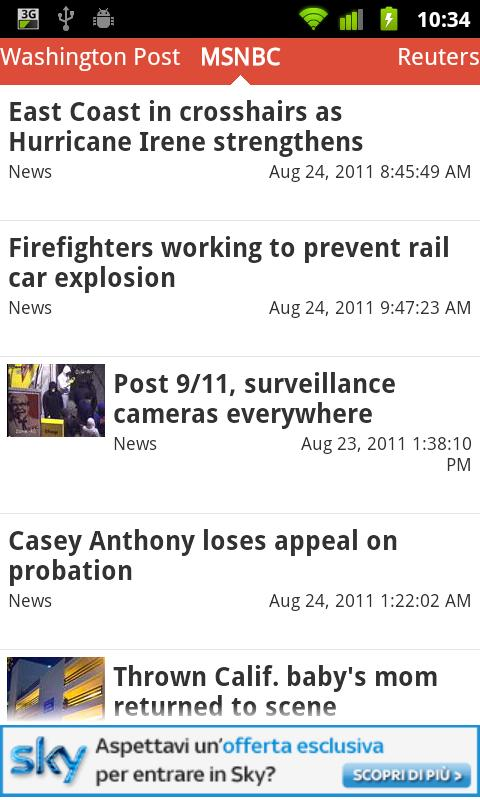 USA Press News- screenshot