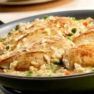 Chicken and Roasted Garlic Risotto.