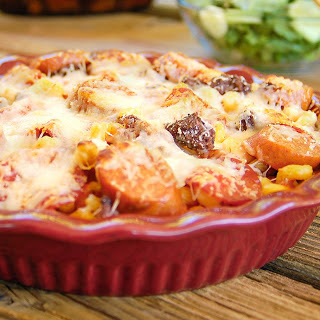 30-Minute Meat Lover's Pizza Pasta Bake