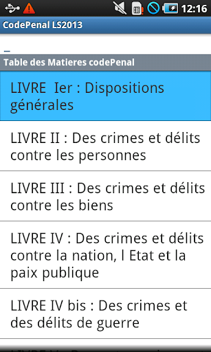 Code Pénal LS 2014