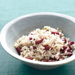 Cuban Red Beans and Rice.