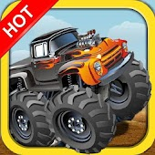 Crazy Monster Truck Race