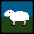 pixel sheep icon