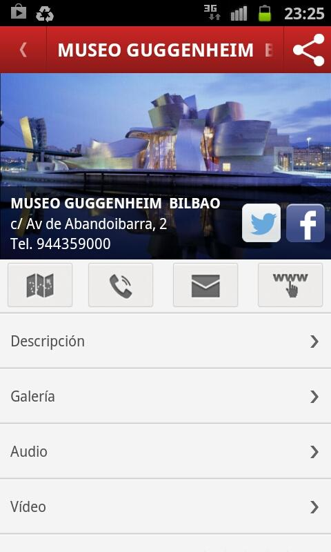 Turismo Bilbao - screenshot