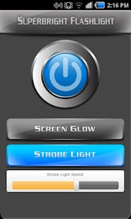 Super-Bright Flashlight FREE - screenshot thumbnail