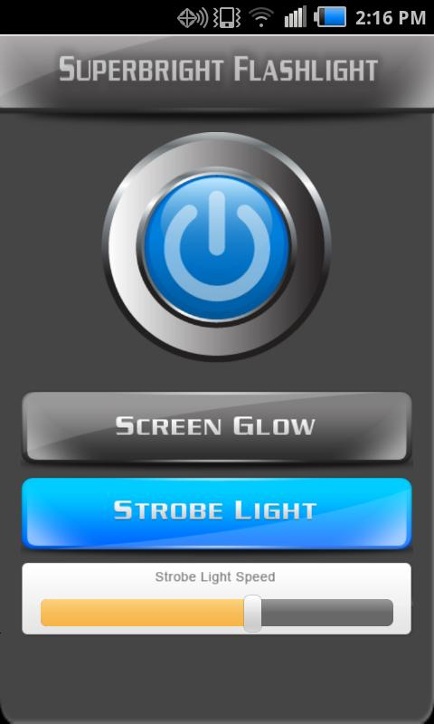 Super-Bright Flashlight FREE - screenshot