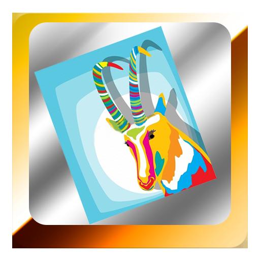 休闲の家畜のカラーリング LOGO-記事Game