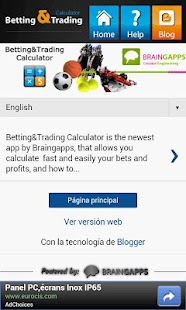 Betting&Trading Calculator - screenshot thumbnail