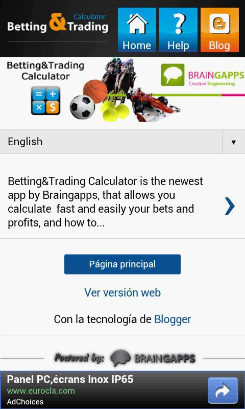 Betting&Trading Calculator- screenshot