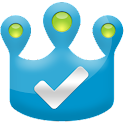 Checkin King for Facebook, 4SQ logo